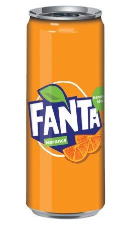 Fanta narancs 0,33l